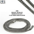 WHOLESALE STAINLESS STEEL FRANCO NECKALCES PREMIUM QUALITY AND PLATING  ONLY @ WWW.directsilverfactory.com