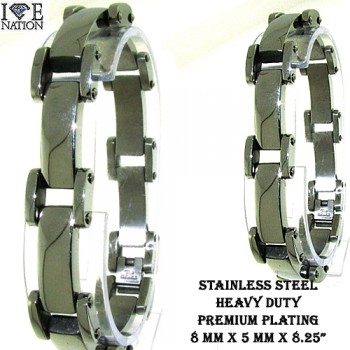 WHOLESALE STAINLESS STEEL BRACELET.  www.directsilverfactory.com its your direct source for wholesale hip hop watches, wholesale sterling silver jewelry, wholesale stainless steel jewelry, wholesale hip hop jewelry and much more