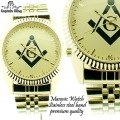 CAPTAIN BLING MASONIC WATCHES  PREMIUM QUALITY.  STAINLESS STEEL BAND