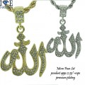 MICRO PAVE SET WITH ROPE NECKLACE PREMIUM QUALITY
