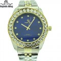MEN'S DRESS ELEGANT STYLE HIP HOP  WATCH, PREMIUM QUALITY, STAINLESS STEEL BAND.