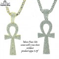 MICRO PAVE SETS WITH 1 ROW 4MM NECKLACE PREMIUM QUALITY