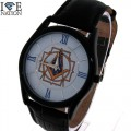Men's Classic Dress Watch by  Ice Nation Watches,  Swiss Design Dial watch and premium quality Genuine Leather Band.