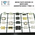 MENS PAVE RINGS 20 PCS PER DISPLAY COST $8.50 EACH