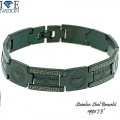 STAINLESS STEEL BRACELET APPX 7.5 inches.