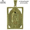 Oro Laminado Pendant with premium plating.