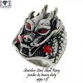 STAINLESS STEEL HEAVY DUTY JUMBO RING, GET READY FOR BIG LOOK  www.directsilverfactory.com