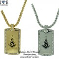"STAINLESS STEEL PENDANT + 30"" NECKLACE SET"