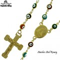 STAINLESS STEEL ROSARY.