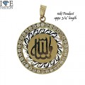 10KT GOLD PENDANT  APPX WEIGHT 1.8 GM  GENUINE 10KT GOLD