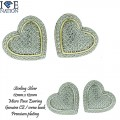 STERLING SILVER MICRO PAVE  EARRING GENUINE CZ PREMIUM QUALITY STONES AND PREMIUM PLATING