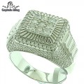 STERLING SILVER MICRO PAVE RING GENUINE CZ PREMIUM QUALITY STONES AND PREMIUM QUALITY.