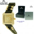 CAPTAIN BLING WATCH WITH FULL OF ICE WITH PREMIUM QUALITY STONES AND PLATING COMES WITH PREMIUM LEATHER BOX***(optional)