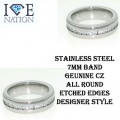 Stainless Steel Designer look Premium Quality band.
