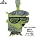 micro pave cz pendant