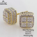 MICRO PAVE CZ EARRINGS, PREMIUM QUALITY