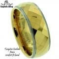 Tungsten Carbide 8MM comfort band.