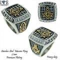 STAINLESS STEEL MASONIC RINGS,