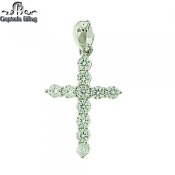 STERLING SILVER MICRO PAVE CZ PENDANT