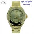 Captain Bling 3 ATM water Resistant watches with stainless steel band with option of with box or without box,