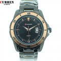 New CURREN brand Mens watch, Fashion  Quartz Adjustable Stainless Steel Watchband Men's Wrist Watch