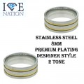 Stainless Steel Designer style band