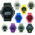 SILICONE WATCH BAND COMES IN 6 PCS IN PACK , ASSORTED COLORS